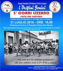 Corri Lizzano...31.07