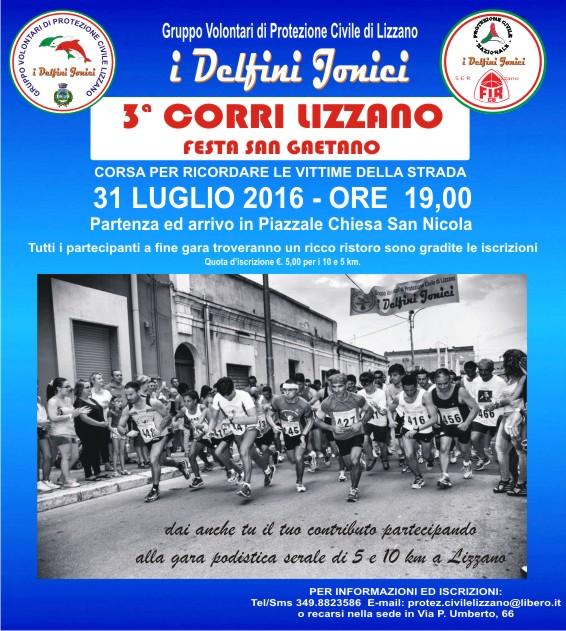 """""""Corri Lizzano"""" – 3^ edizione"""