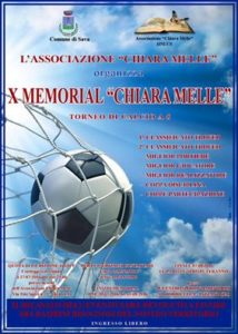 X Memorial Chiara Melle