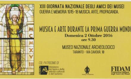 """""""XIII Giornata Nazionale degli Amici dei Musei"""""""