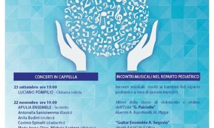 """""""Donatori di Suoni"""" – Stagione di concerti al SS. Annunziata"""