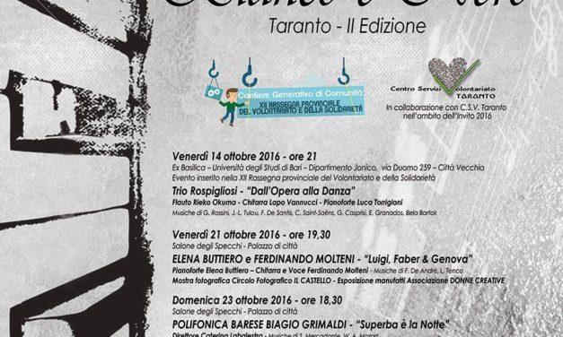 """""""ArmoniE in Bianco e Nero 2016"""" II edizione, ultimo appuntamento"""