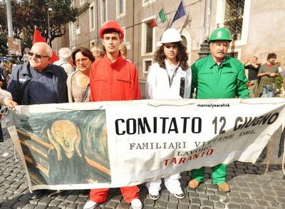 Manifestazione per le vittime del lavoro e del dovere