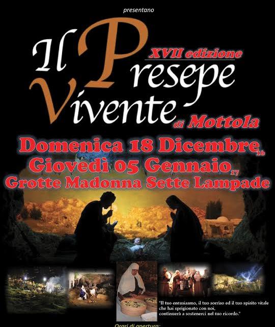 XVII edizione del Presepe Vivente di Mottola