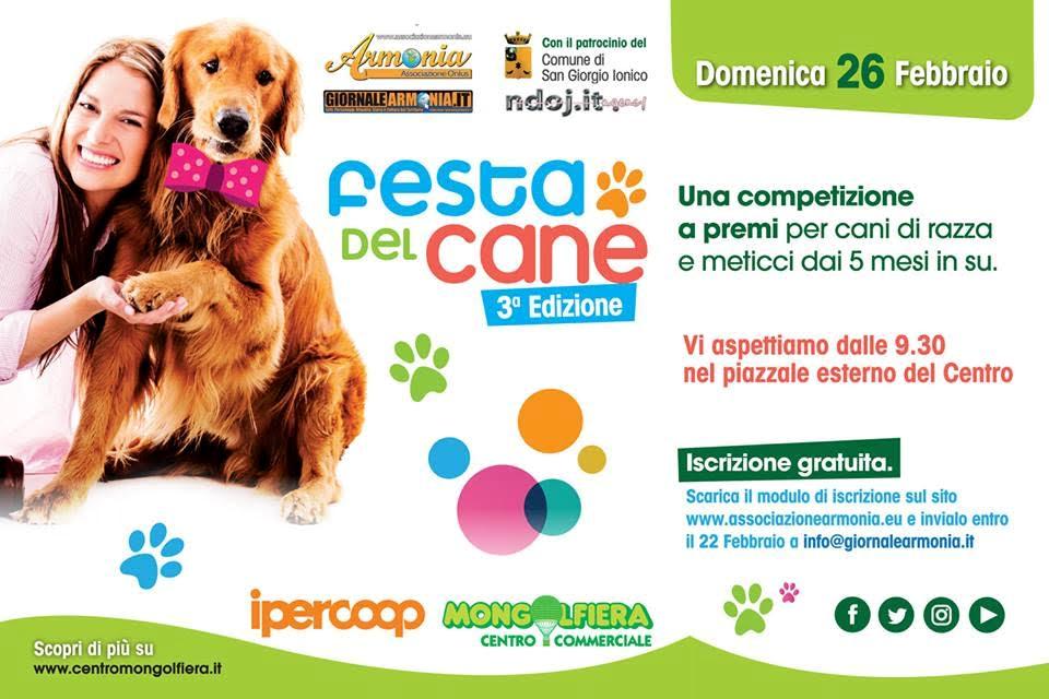 """Domenica 26 febbraio la """"Festa del cane"""""""