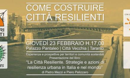 Per l'ambiente una Taranto resiliente