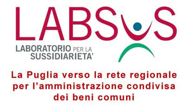 La Puglia verso la rete regionale dei Beni Comuni