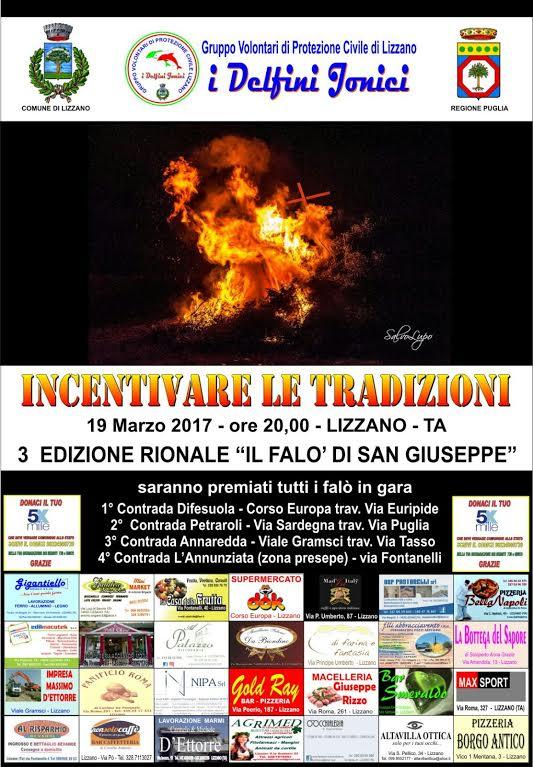 """""""Pianificare le tradizioni"""" – 3^ edizione rionale del """"Falò di San Giuseppe"""""""