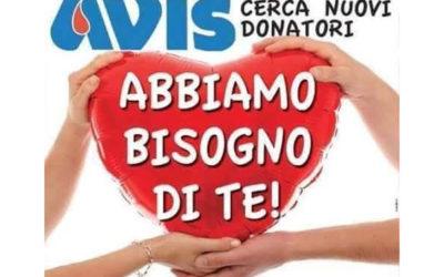 """8 novembre 2017, """"Giornata della donazione"""""""