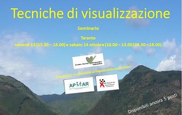 Tecniche di visualizzazione – Seminario