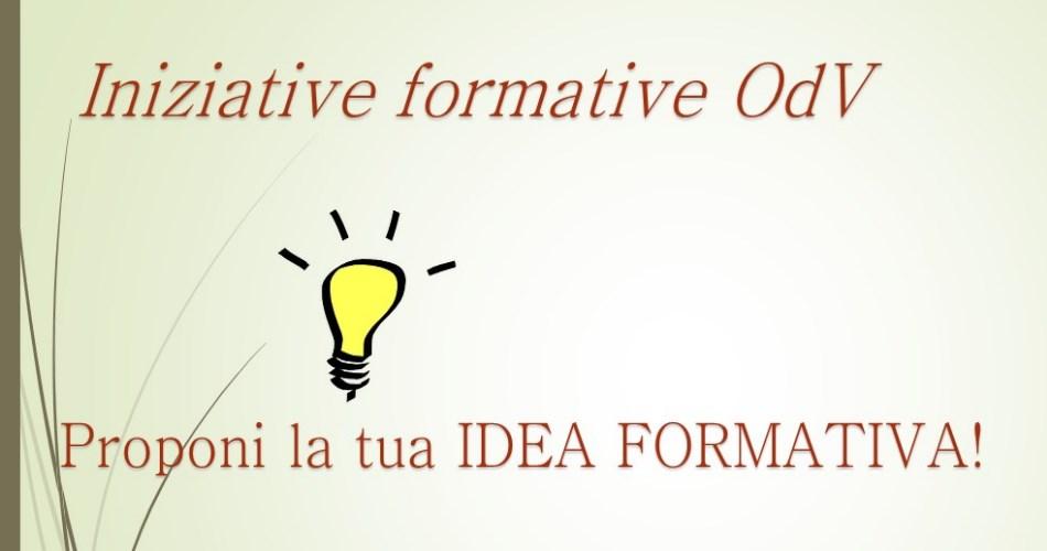 Proponi la tua IDEA FORMATIVA!