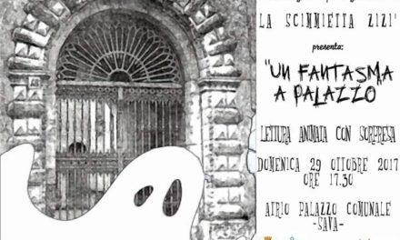 """""""Un Fantasma a Palazzo""""unalettura animata per bambini"""