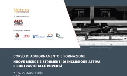 Nuove misure e strumenti di inclusione attiva e contrasto alle povertà, corso di formazione