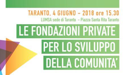 """""""Le Fondazioni private per lo sviluppo della comunita'"""", convegno il 4 giugno alla LUMSA"""