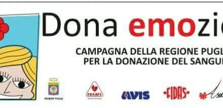 """""""Dona EMOzioni"""", la campagna  di comunicazione e sensibilizzazione per la Donazione del Sangue"""