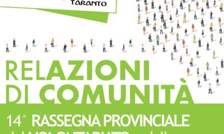 XIV Rassegna provinciale del Volontariato e della Solidarietà
