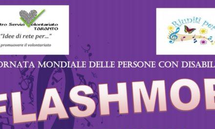 """A Martina il flashmob: """"IL Totem del Volontario"""""""