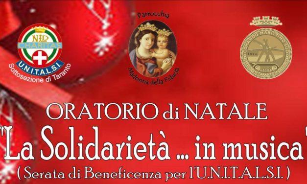 """""""La Solidarietà… in musica"""", serata di beneficenza per l'U.N.I.T.A.L.S.I."""