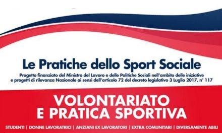 """""""Volontariato e pratica sportiva"""", se ne parla in un seminario"""