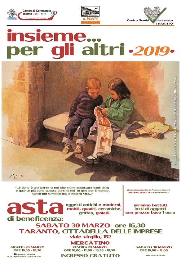 Insieme … per gli altri 2019   CSV Taranto