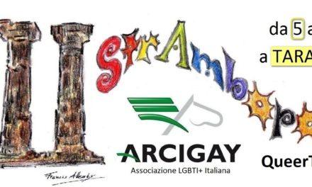 Il presidio Arcigay a Taranto compie 5 anni e festeggia con una serie di iniziative