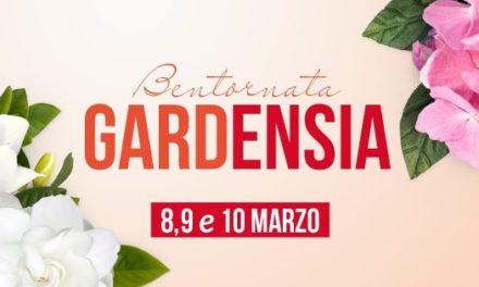"""8, 9, 10 marzo Festa della Donna… """"Bentornata Gardensia"""""""