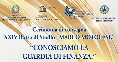 XXIV edizione della Borsa di Studio Marco Motolese