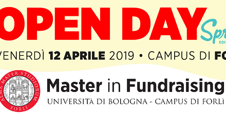 Porte aperte al Master in Fundraising per l'Open Day – Spring Edition!
