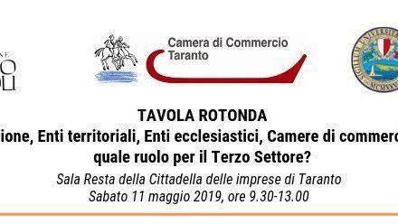 Tavola Rotonda sul tema del Terzo Settore a Taranto