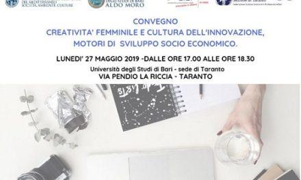 """""""Creatività femminile e cultura dell'innovazione, motori di sviluppo socio economico"""", Convegno sul tema"""