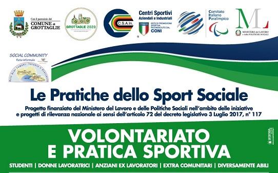"""""""Volontariato e Pratica Sportiva"""" Seminario gratuito"""