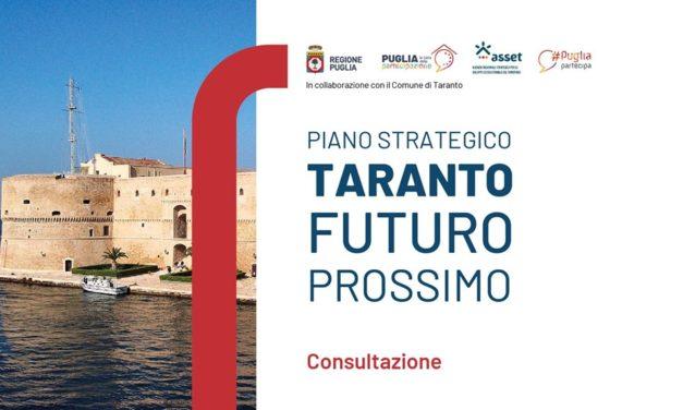 """""""Taranto prossimo futuro"""" – Consultazione sul Piano Strategico per Taranto"""