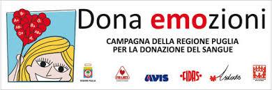 Al via da domani la campagna della Regione Puglia per la donazione del sangue