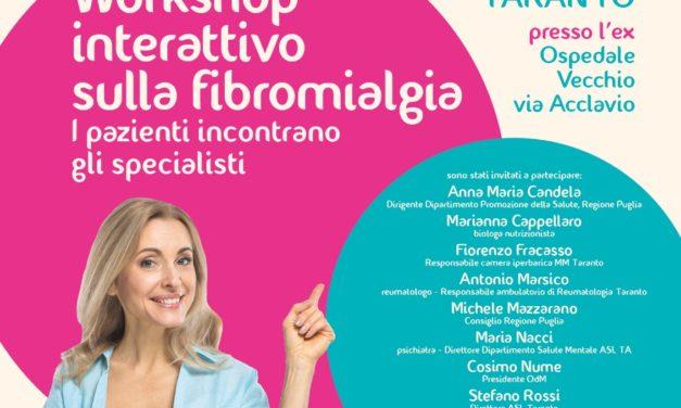 Workshop interattivo sulla Fibromialgia: i pazienti incontrano gli specialisti