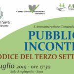 Il Codice del Terzo settore – incontro pubblico a Sava