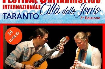 """La musica Yiddish al Festival Chitarristico Internazionale """"Città dello Jonio"""""""