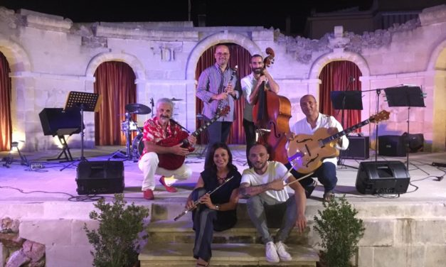"Ensemble ""let's Go…Jazz!""  in Concerto – Giuseppe Manco Open Theatre"