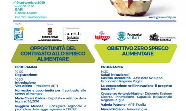 Workshop Innonets: Obiettivo zero spreco alimentare