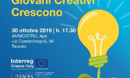 """A Taranto una tappa della call """"Giovani Creativi Crescono"""""""