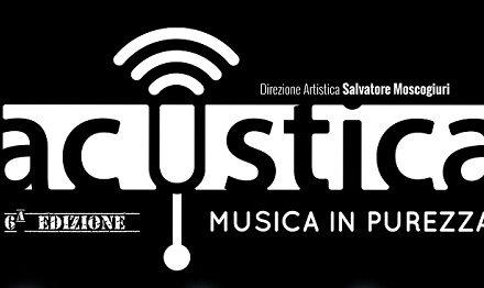 """""""Riccardo Arrighini in ¾"""". Primo appuntamento con la VI edizione di """"Acustica – musica in purezza"""""""