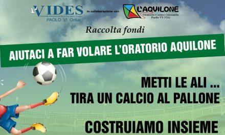 """""""Un metro per uno, un campo per tutti"""", ilVides Paolo VI lancia una raccolta fondi"""