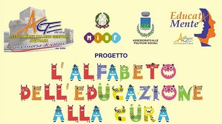 """Progetto """"L'alfabeto dell'educazione alla curA.…come Amore,ambiente.e alimentazione…"""""""