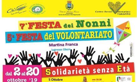 A Martina Franca torna la Festa del Volontariato