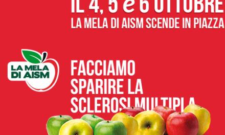 """La Mela di AISM""  torna a Taranto per la lotta alla sclerosi multipla"