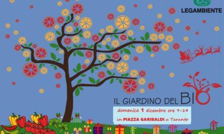 Domenica 1 dicembre in Piazza Garibaldi il Giardino del BIO di Legambiente