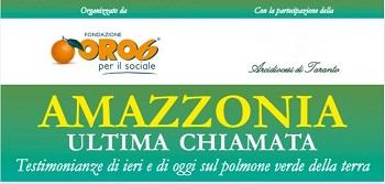 A Taranto un incontro per parlare del disboscamento dell'Amazzonia