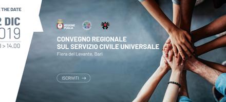 Servizio Civile: nuove energie per i territori. A Bari un convegno sul tema
