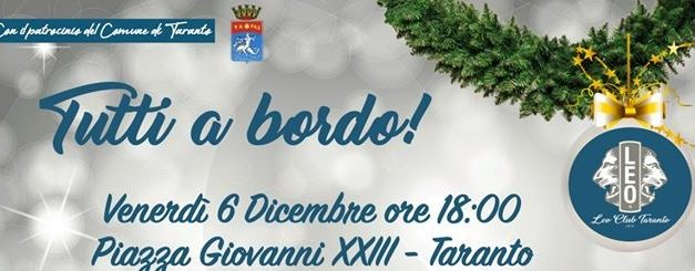 Tutti a bordo! – Cerimonia consegna pullmino ad Anffas Taranto
