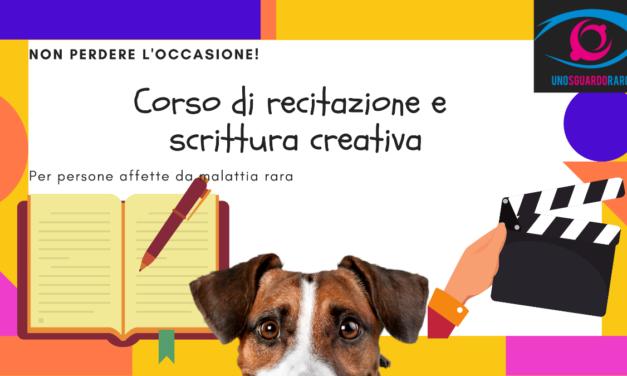 Corso di recitazione e scrittura creativa per ragazzi che convivono con una malattia rara
