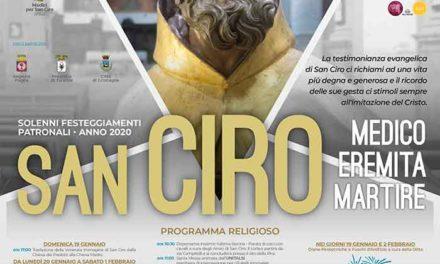 Prendono il via a Grottaglie i solenni festeggiamenti in onore di San Ciro
